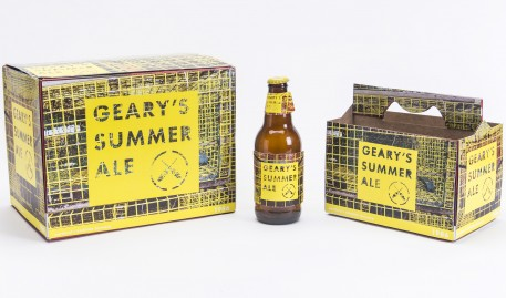 2015 Geary's Summer Ale Package Design Winner Announced