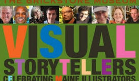 Illustration Faculty and Alumni Featured in VISUAL STORYTELLING