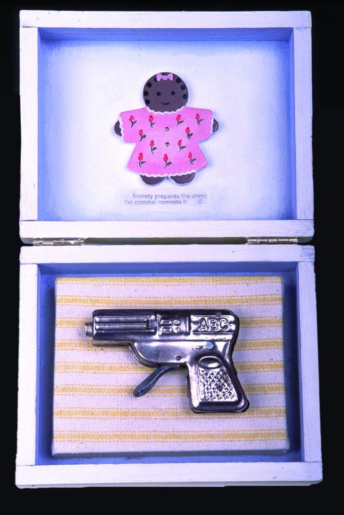 Renee Stout, Baby's First Gun, 1998