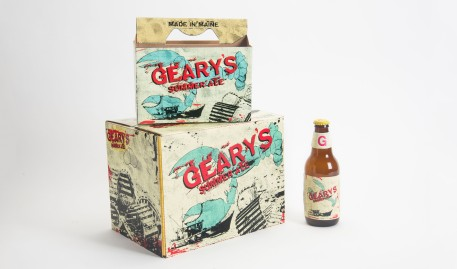 Lewis Rossignol '17 Announced as 2016 Geary's Package Design Winner