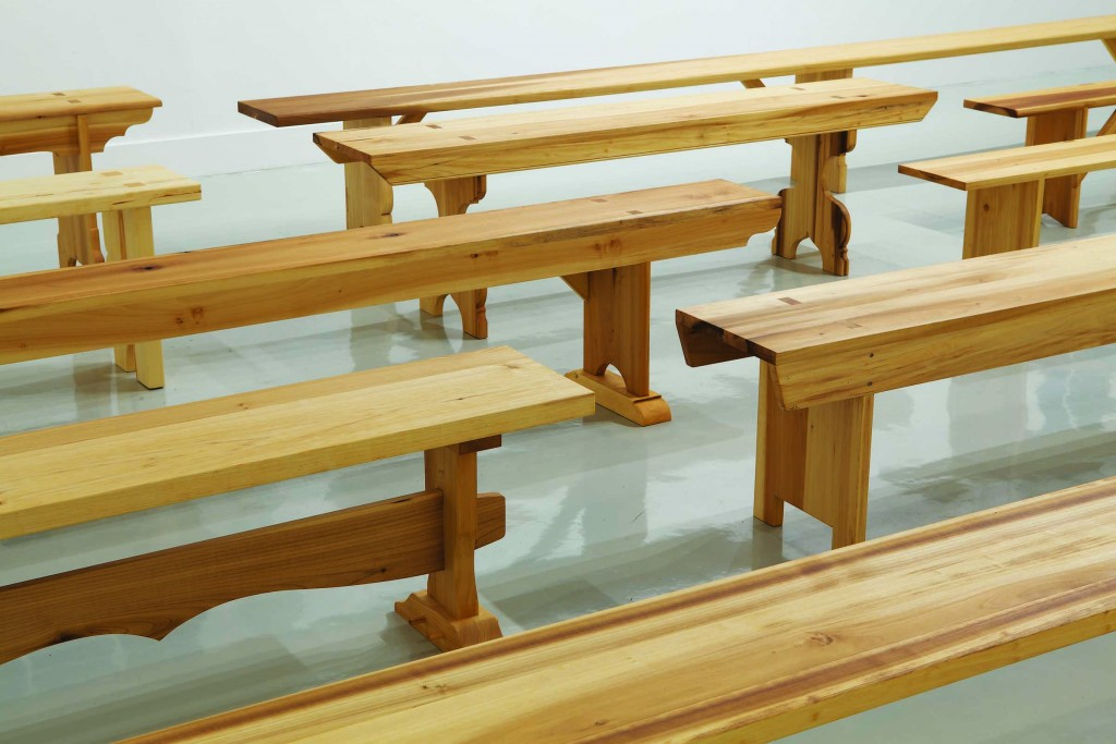 Utopian Benches at the ICA