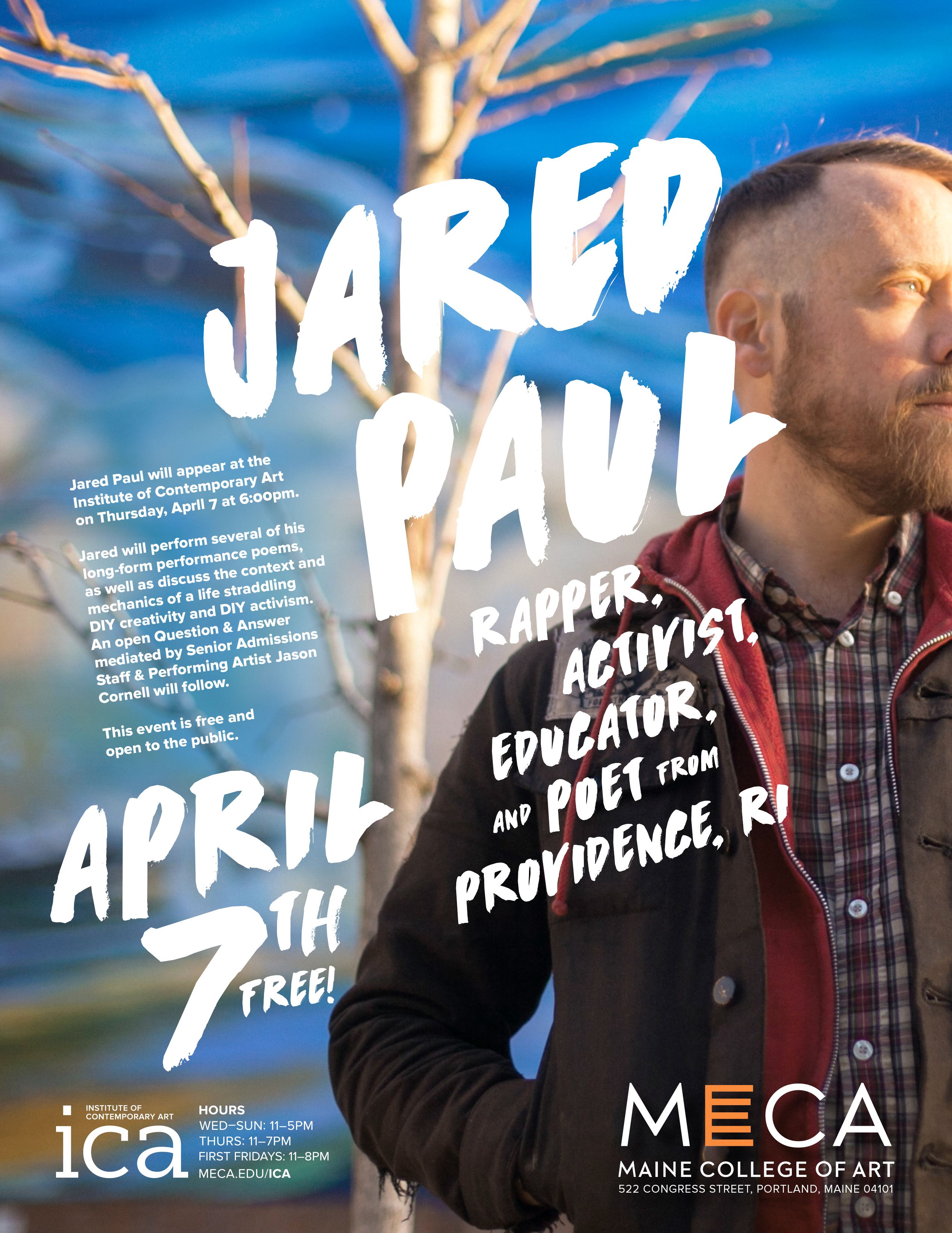 Performance by Jared Paul Poet Rapper Educator Activist Maine