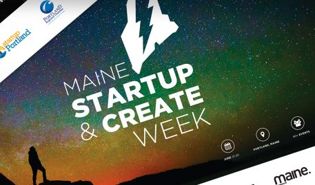 Maine Startup & Create Week Hosted at MECA