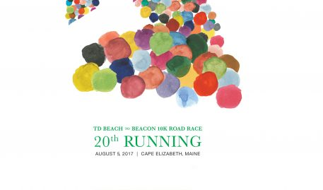 Beach to Beacon 10k Poster Design: Kirk Simpson '18