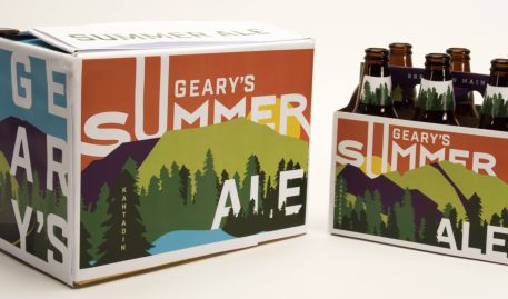 Hallie Mitchell '17 Announced as 2017 Geary's Package Design Winner