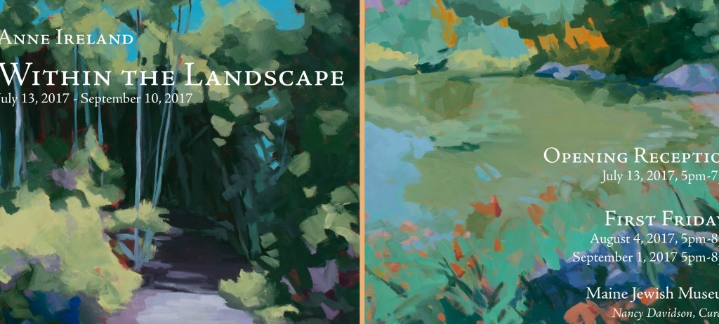 Within the Landscape, Anne Ireland '94 - Maine College of Art