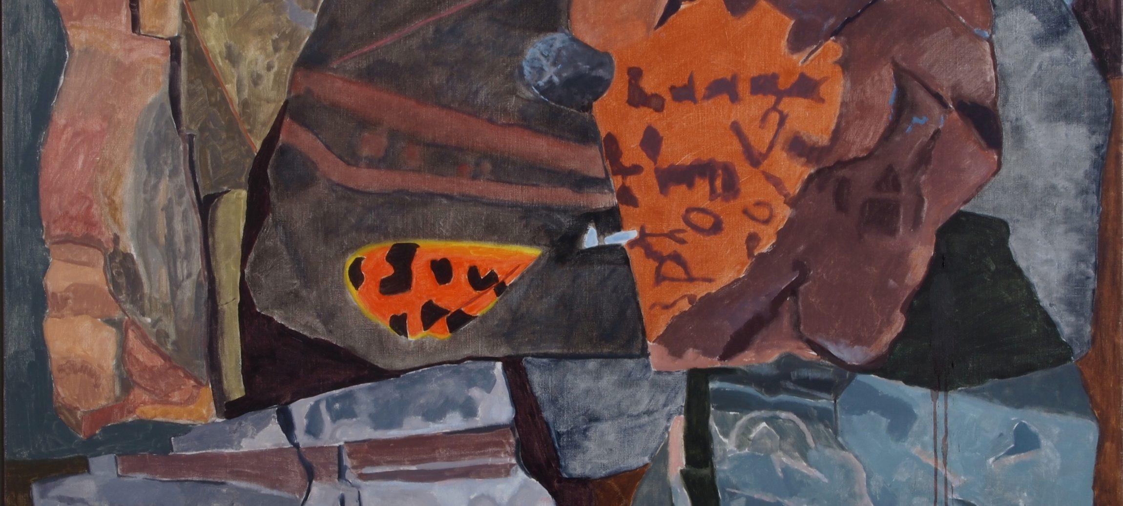 """Joseph A. Fiore, Virgo Tiger, oil on canvas, 38"""" x 48"""""""