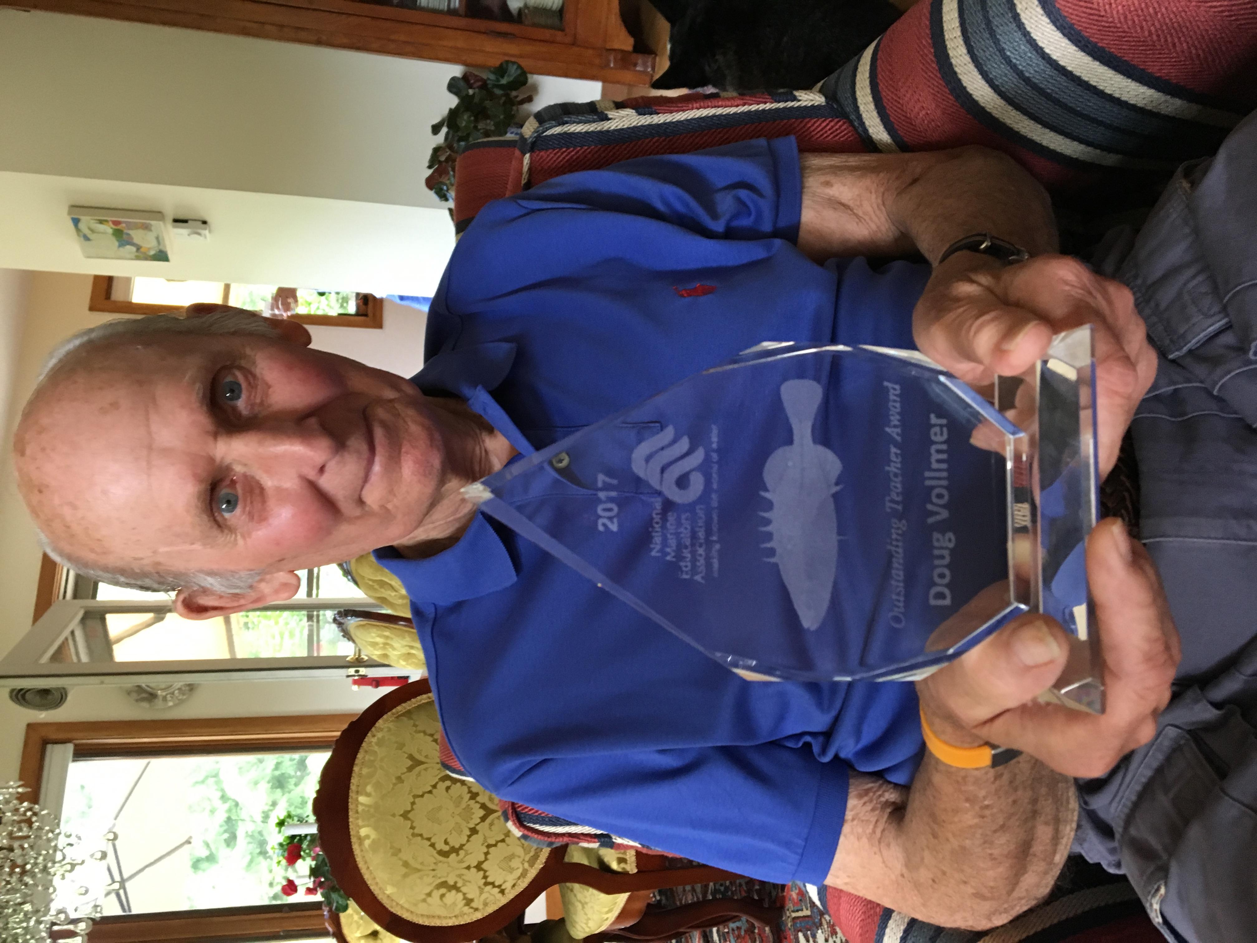 Doug Vollmer Awarded NMEA's 2017 Outstanding Teacher Award