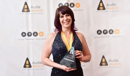 Tavia Gilbert Salt '01 Receives Best Female Narrator Audie Award