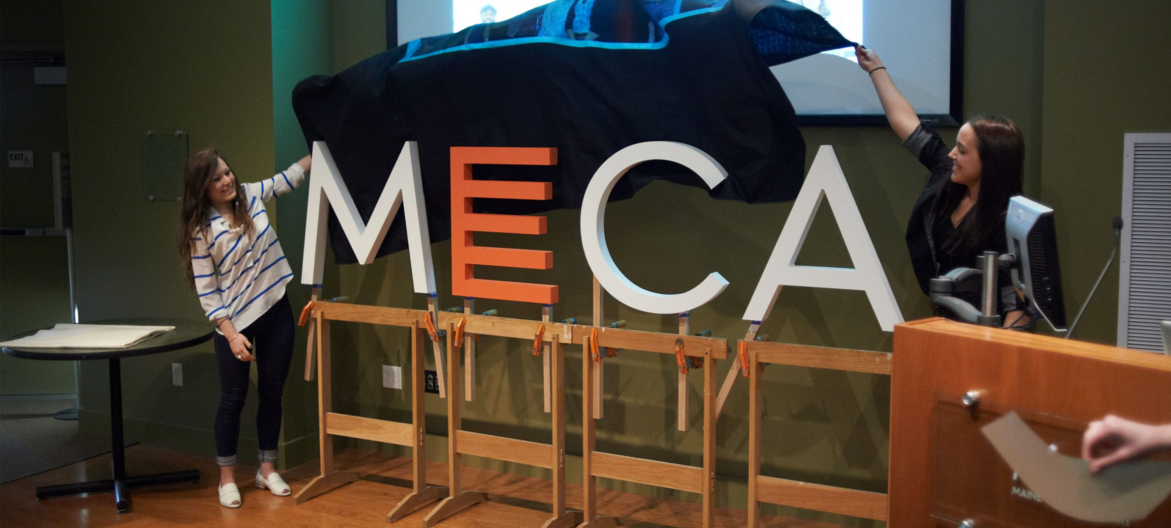 MECA Logo + Media image
