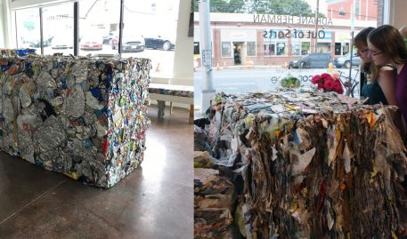 Trash Talks in Sculpture Exhibit at Speedwell Projects