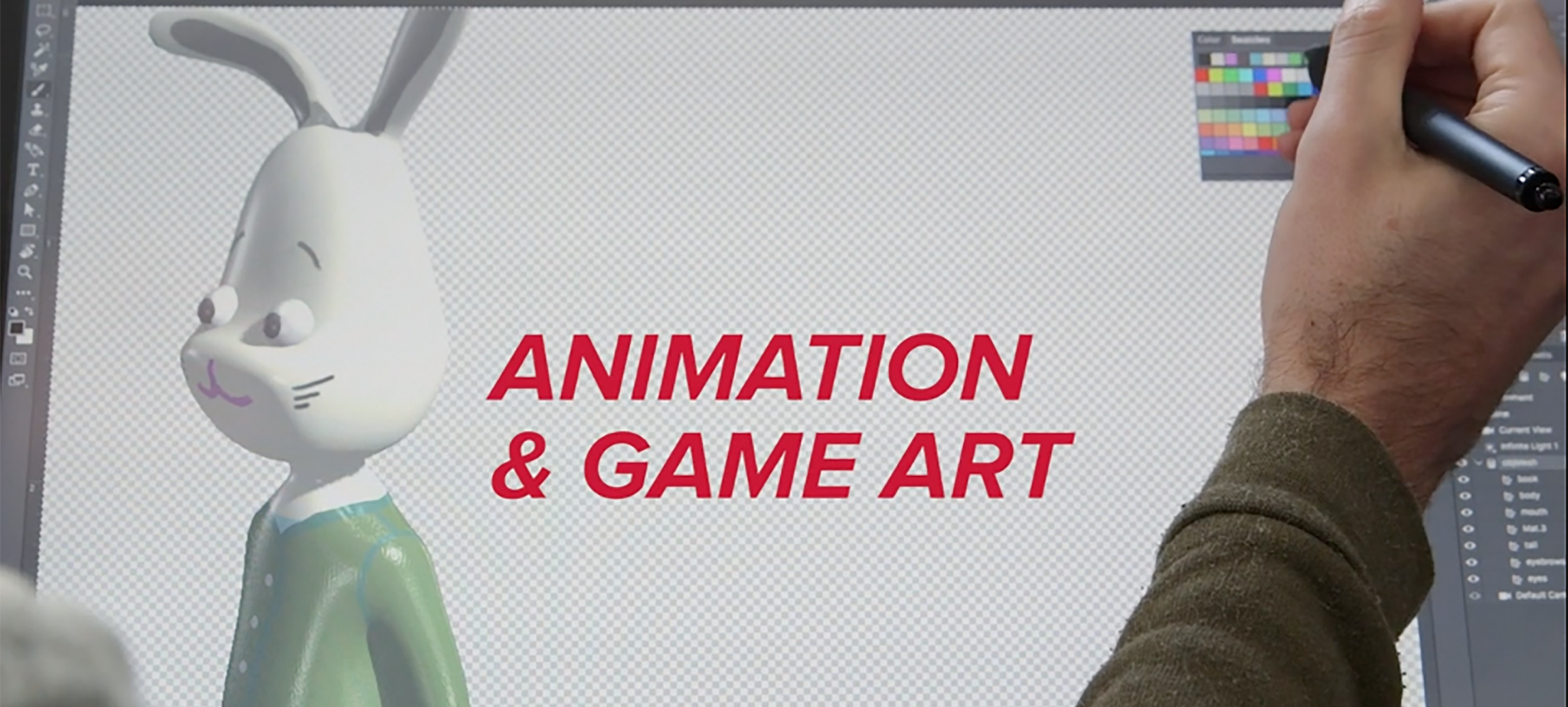 Video: Animation & Game Art at MECA image