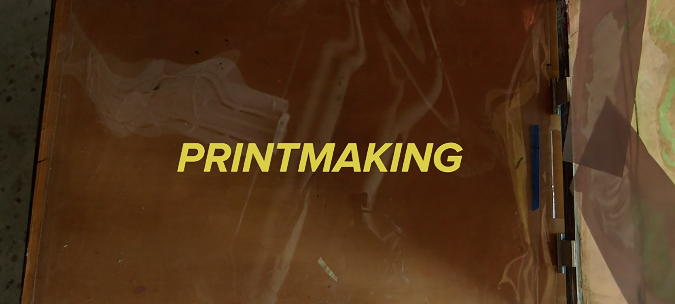 Video: Printmaking at MECA image