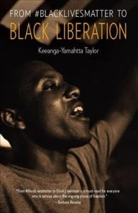 Book cover with Black person