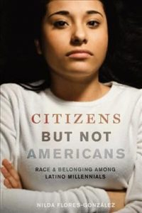 Book cover with Latinx person with arms folded
