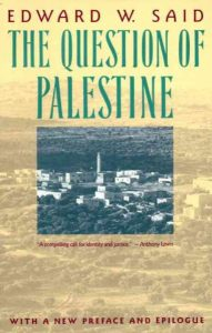 Book cover with photo of Palestine