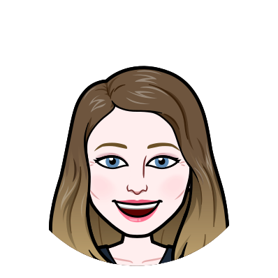 Jen Campanaro's image is illustrated as a bitmoji: a fair white person with long light brown hair, blue eyes, pink lipstick, and smiling.